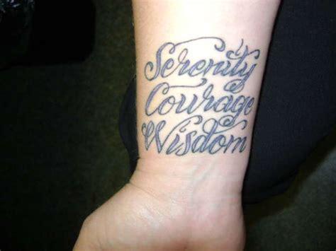 serenity prayer wrist tattoo serenity prayer tattoos designs ideas and meaning