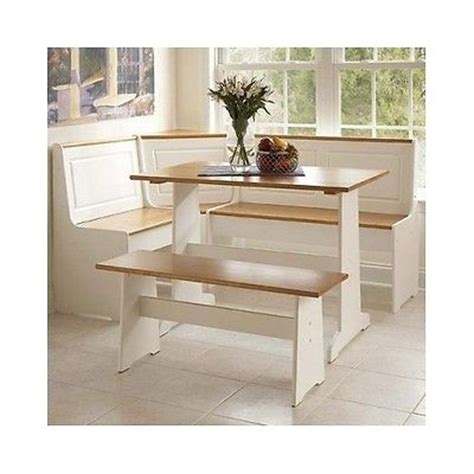 corner bench table with storage three piece dining set breakfast nook kitchen table chairs