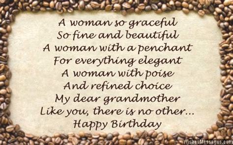 Deceased Grandmother Birthday Quotes Birthday Poems For Grandma Wishesmessages Com