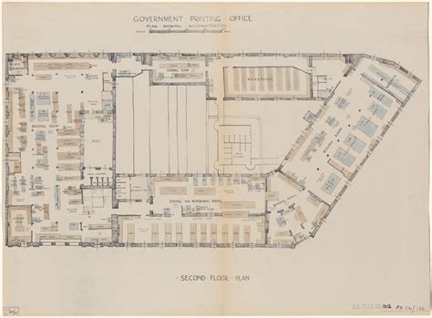 Are House Floor Plans Public Record | plans of public buildings nsw state archives