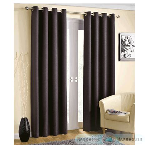 Basket Weave Curtains Basket Weave Light Reducing Eyelet Curtains Blockout Thermal Ring Top Ready Made Ebay