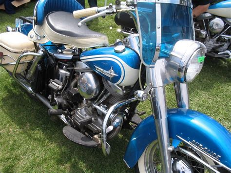 original paint blue 1958 1965antique and vintage harley davidsonsharley davidson motorcycles