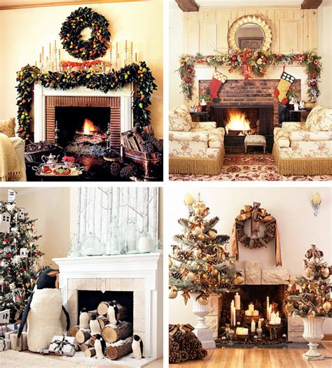 Christmas Decorations Ideas by 33 Mantel Christmas Decorations Ideas Digsdigs