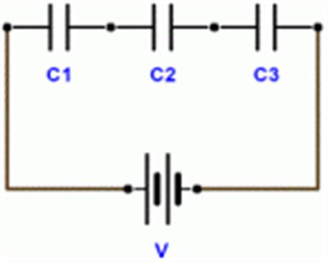 series capacitor definition types of capacitors electronics tutorials
