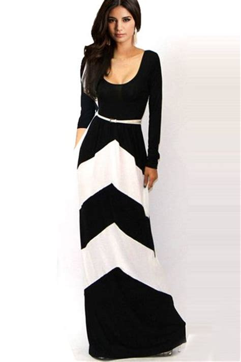 Sleeve Floor Length Black Dress by Black And White Floor Length S Sleeve Cheap Shoes