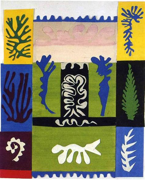 matisse cut outs poster set anfitrite henri matisse wikiart org encyclopedia of visual arts