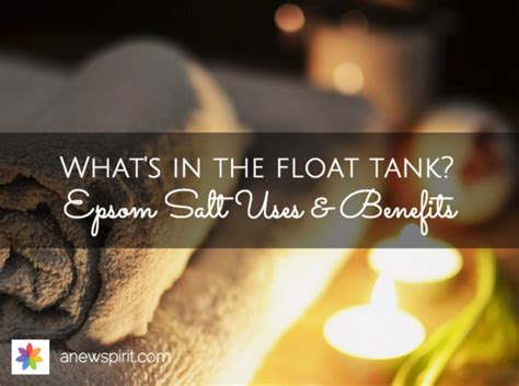 Denver Detox Spa by Float Tank Epsom Salt Uses Benefits A New Spirit