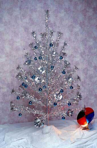 vintage silver christmas tree christmas oldies but