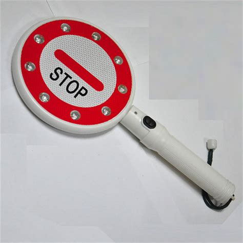 hand held stop sign with led lights hand held stop signage led stop signage led traffic sign