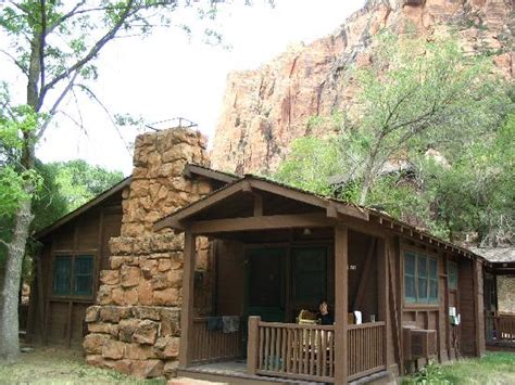 Cabins In Zion National Park by Our Cabin Picture Of Zion Lodge Zion National Park Tripadvisor