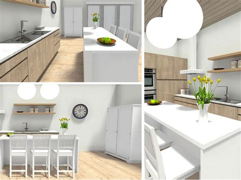 kitchen 3d design plan your kitchen with roomsketcher roomsketcher