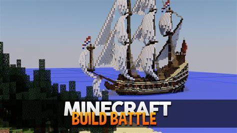 barco pirata minecraft minecraft constru 205 um barco pirata build battle youtube