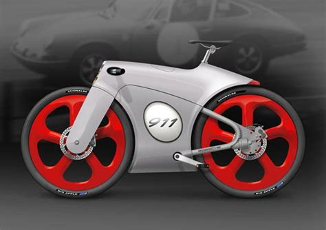 porsche bicycle design concept porsche 911 bicycle looks amazing