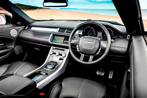 land rover convertible interior new range rover evoque convertible first impressions