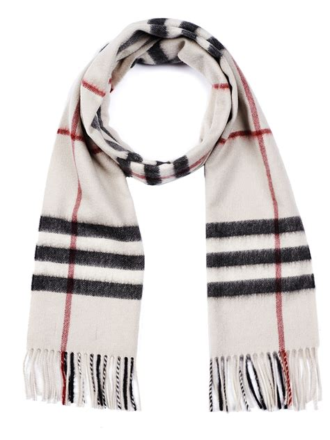 burberry scarf in beige lyst