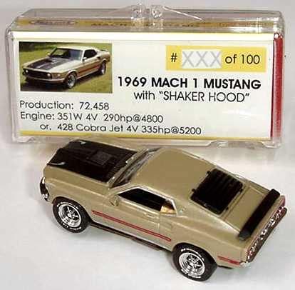Balmer B 4001 Gold Original road race replicas limited edition mach 1