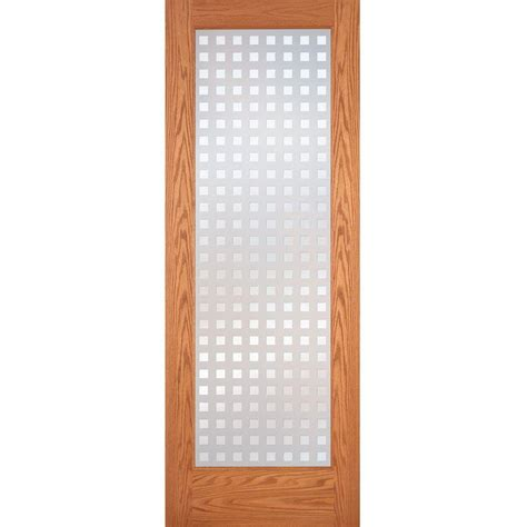 oak interior doors home depot feather river doors 32 in x 80 in privacy smooth 1 lite