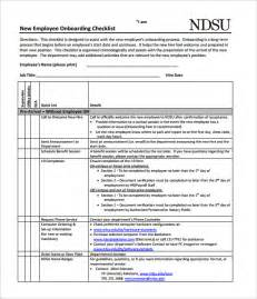 new hire checklist template 11 download documents in