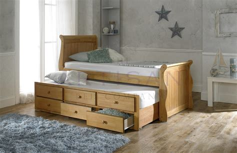oak captains bed captain bed oak