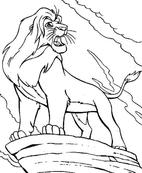 imagenes de leones infantiles para colorear dibujos para colorear de leon imagui