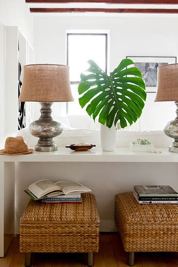 Fig Leaf Ottomans Design Ideas Sofa Table With Ottomans