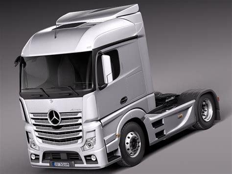 mercedes truck 2014 aero 2014 mercedes truck 3d 3ds
