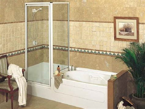 small corner bathtub with shower bathtubs and showers mirolin liberty 60 inch 1pc