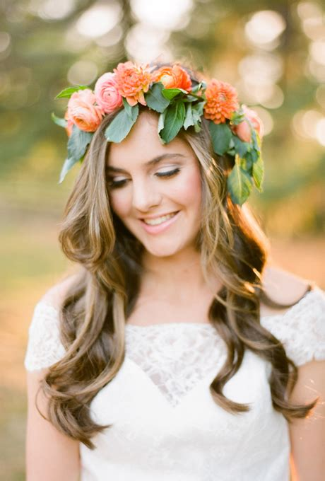 Wedding Hairstyles Crown by Summer Bridal Hairstyles With Flowers 2015 Hairstyles