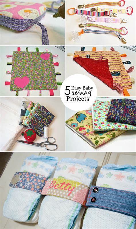diy projects sewing easy baby sewing projects project nursery