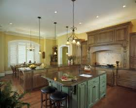 Kitchen of custom home by brock builders