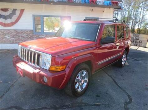 Jeep Commander For Sale In Ma Cars For Sale In Pepperell Ma Carsforsale