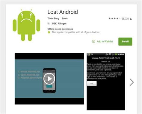 android lost app how to track your lost android phone without tracking app