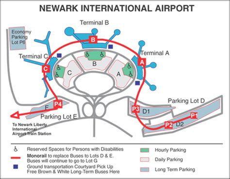 Jfk Airport Information Desk Phone Number by Parking Term Term Daily At Newark Airport New York City New Jersey