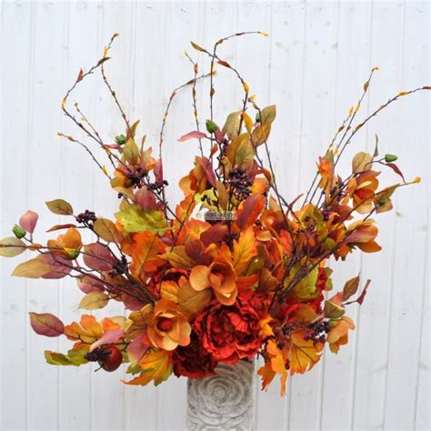 fiori finti firenze composizioni fiori autunnali