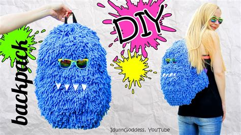 Fluffy Bag diy fluffy backpack how to make a