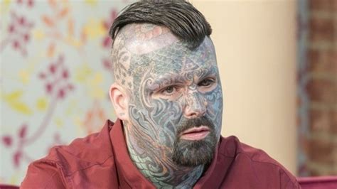 tattoo lasering cost tattooed man is king of inkland hot topics this morning