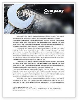 automotive business letterhead template car repair letterhead template layout for microsoft word