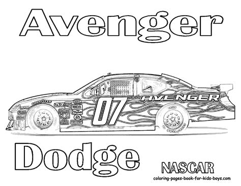 coloring pages of nascar race cars nascar race car coloring pages 3 image colorings net