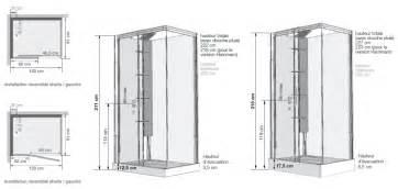 cabine de horizon 120 receveur faible hauteur porte