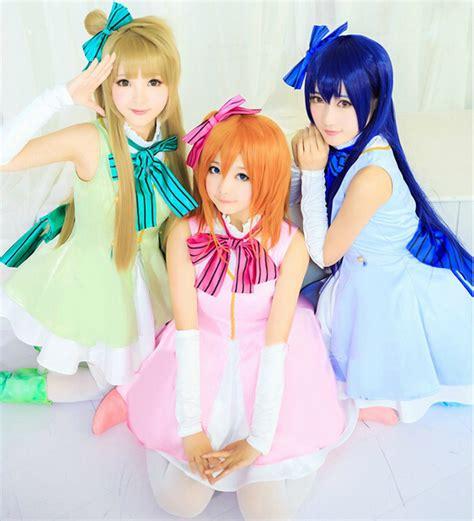 live honoka kotori umi clothing dress set