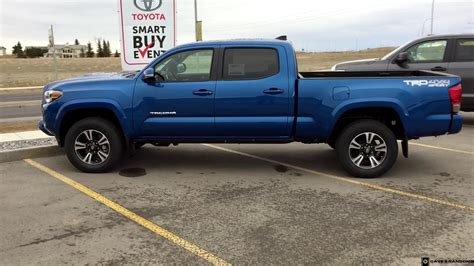 tacoma long bed 2016 toyota tacoma double cab trd sport in blazing blue