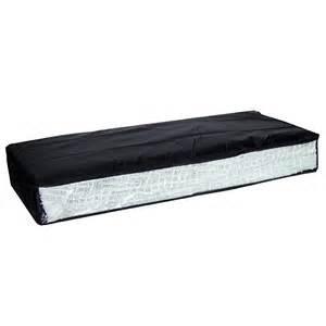 housse de rangement sous lit tissu avec fen 234 tre noir