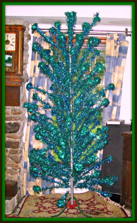 silver forest aluminum christmas tree with vintage aluminum trees hubpages