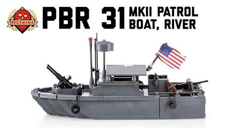 lego boat army pbr 31 mkii patrol boat river custom military lego
