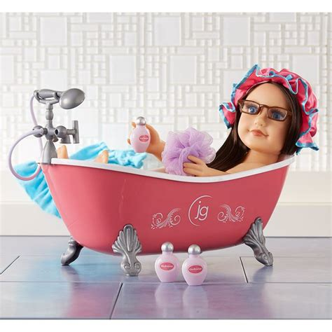american girl bathtub 17 best images about american girl doll bathroom on