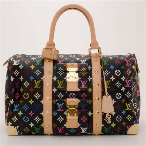buy louis vuitton monogram multi color keepall  duffle