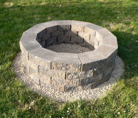 how to build a backyard firepit how to build a back yard diy pit it s easy the