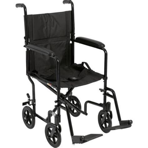 Transport Chair Walmart by Drive Lightweight Black Transport Wheelchair