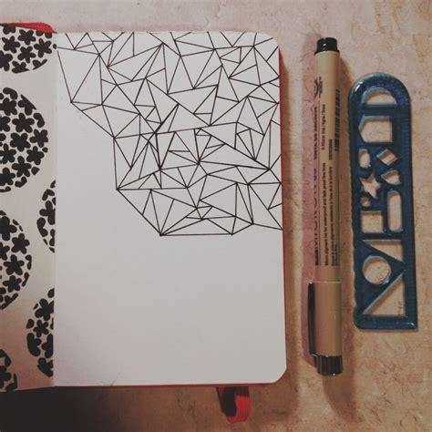 geometric doodle ideas 25 beautiful moleskine ideas on sketchbooks