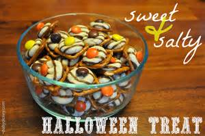 sweet and salty halloween treats baby dickey chicago